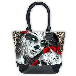 Bolso gran modelo Eternal Bliss pin-up Rockabilly estilo Tattoo Liquor Brand