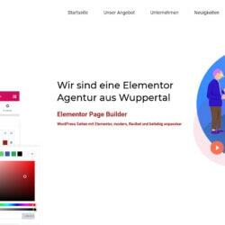 WordPress: Elementor Design Agentur