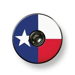 Bikelangelo Texas Flag Stem Cap