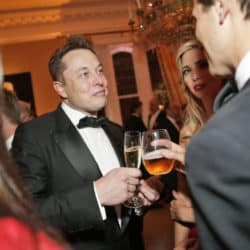 musk drinks with ivanka trump and cushner