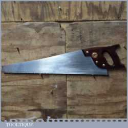 "Vintage Spear & Jackson Professional 23 ½"" Cross Cut Panel Handsaw"