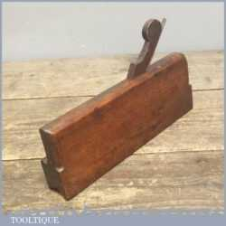 Antique Early 19th Century Moulding Plane - With Unusual Shape