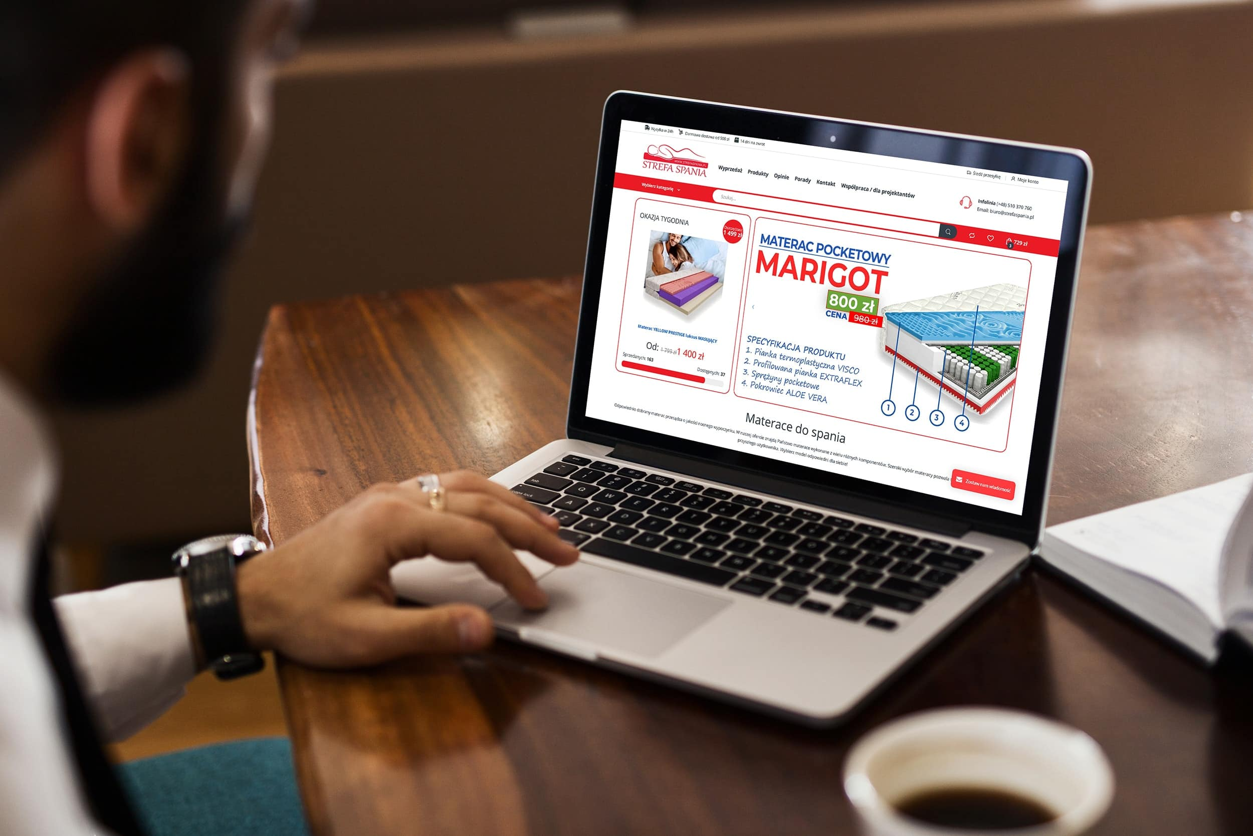 screenshot - sklep internetowy świat skarpet kalwaria zebrzydowska