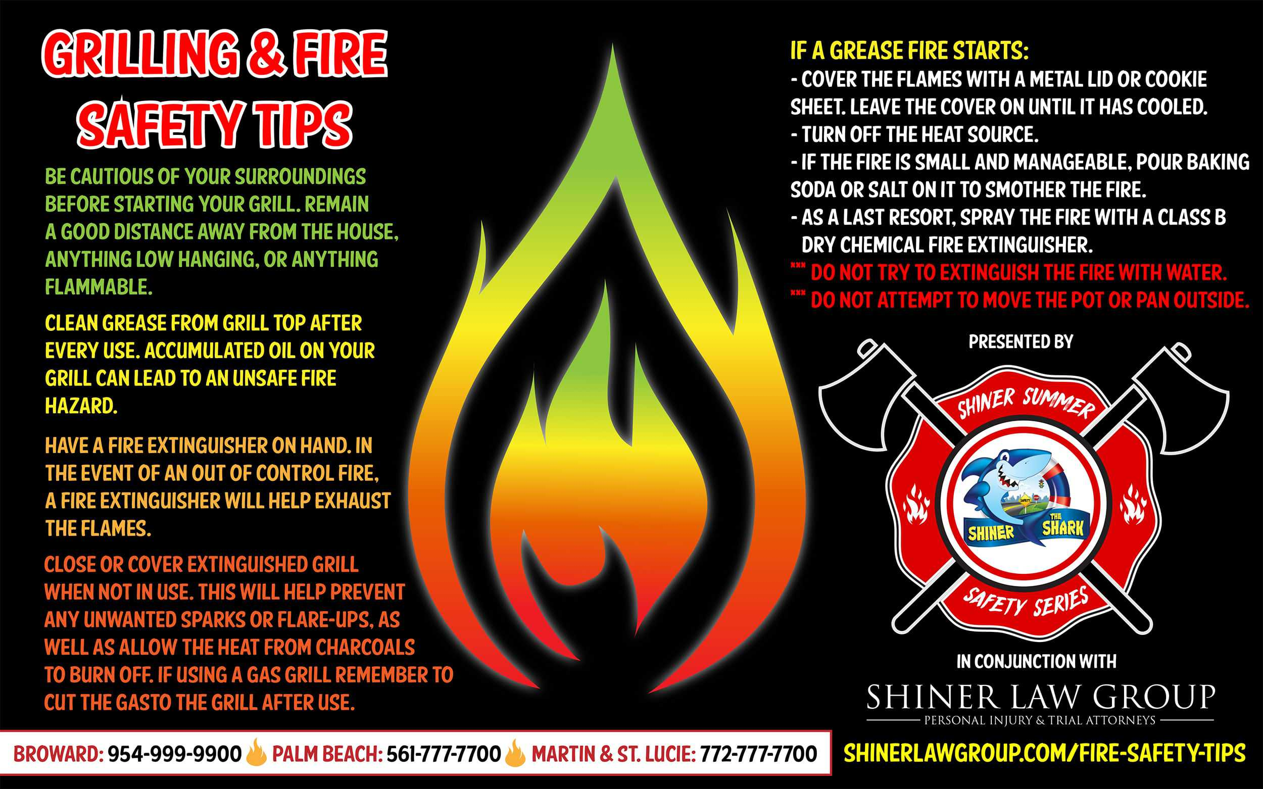 Fire Safety Tips Boca Injury Lawyer David Shiner Law Group