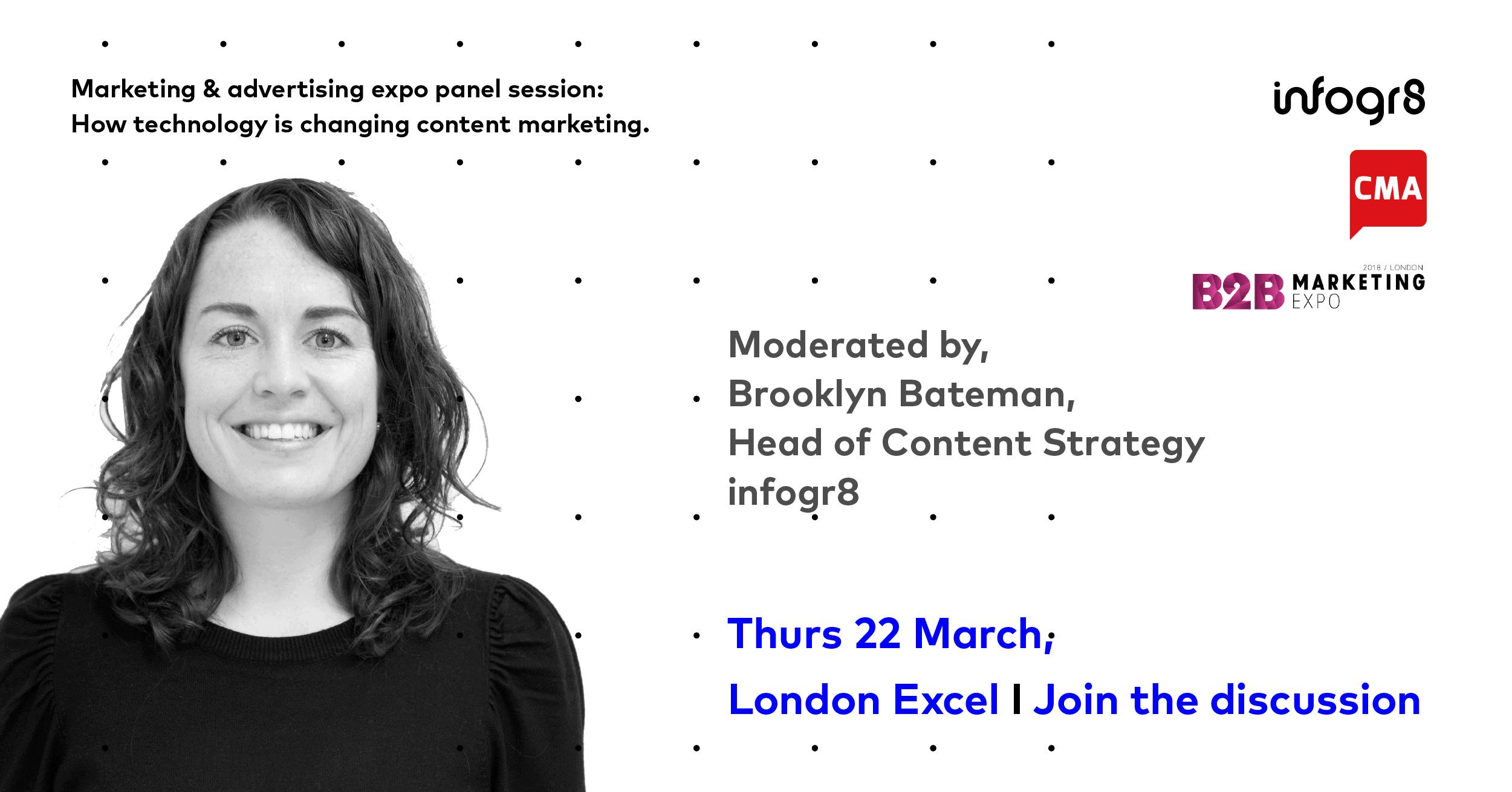 Marketing Expo promo card: Brooklyn Bateman