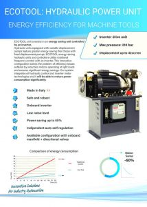 ECOTOOL: HYDRAULIC POWER UNIT