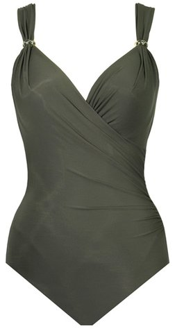Miraclesuit Razzle Dazzle Siren swimsuit | 40plusstyle.com