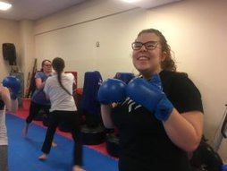 Ladies only is fun #thisgirlcan Kickboxing