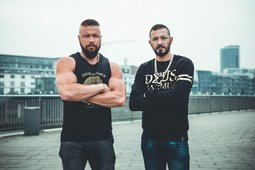 Kollegah und DJ Arow