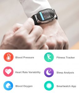 YHE BP Doctor Wearable Blood Pressure Smartwatch