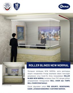 Roller Blind New Normal