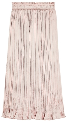 Pleated elastic waist skirt from Topshop | 40plusstyle.com