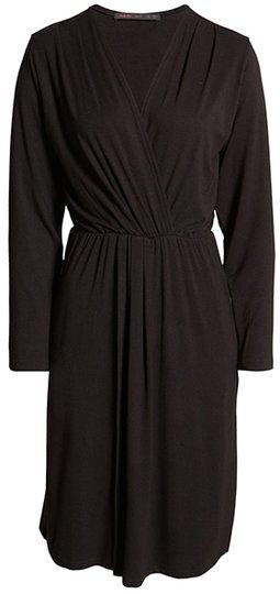 Fraiche by J faux wrap dress | 40plusstyle.com