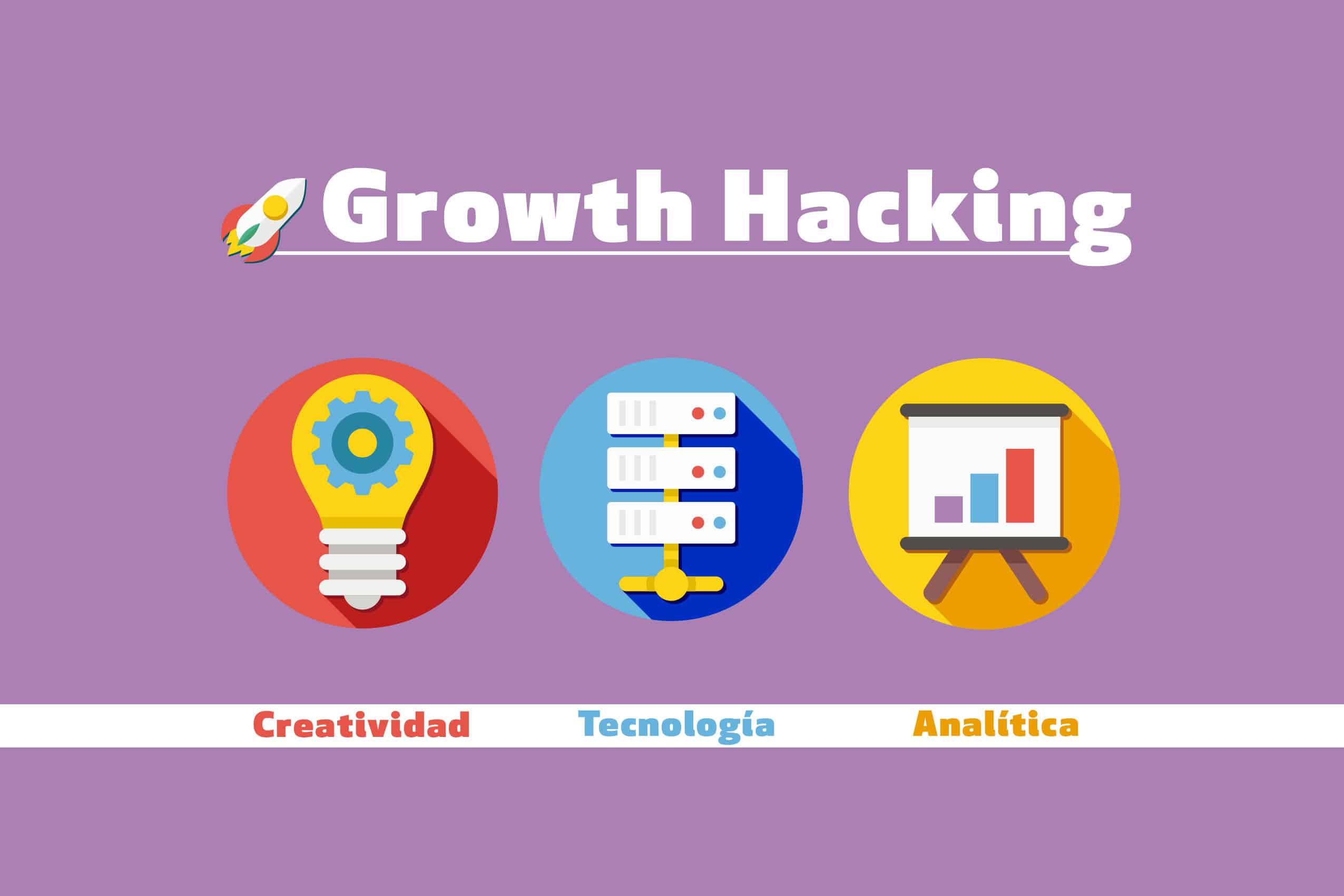 Pilares del growth hacking: creatividad, analítica y tecnología