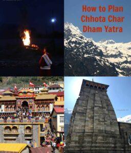 Chota Char Dham Yatra (Complete Travel Plan)