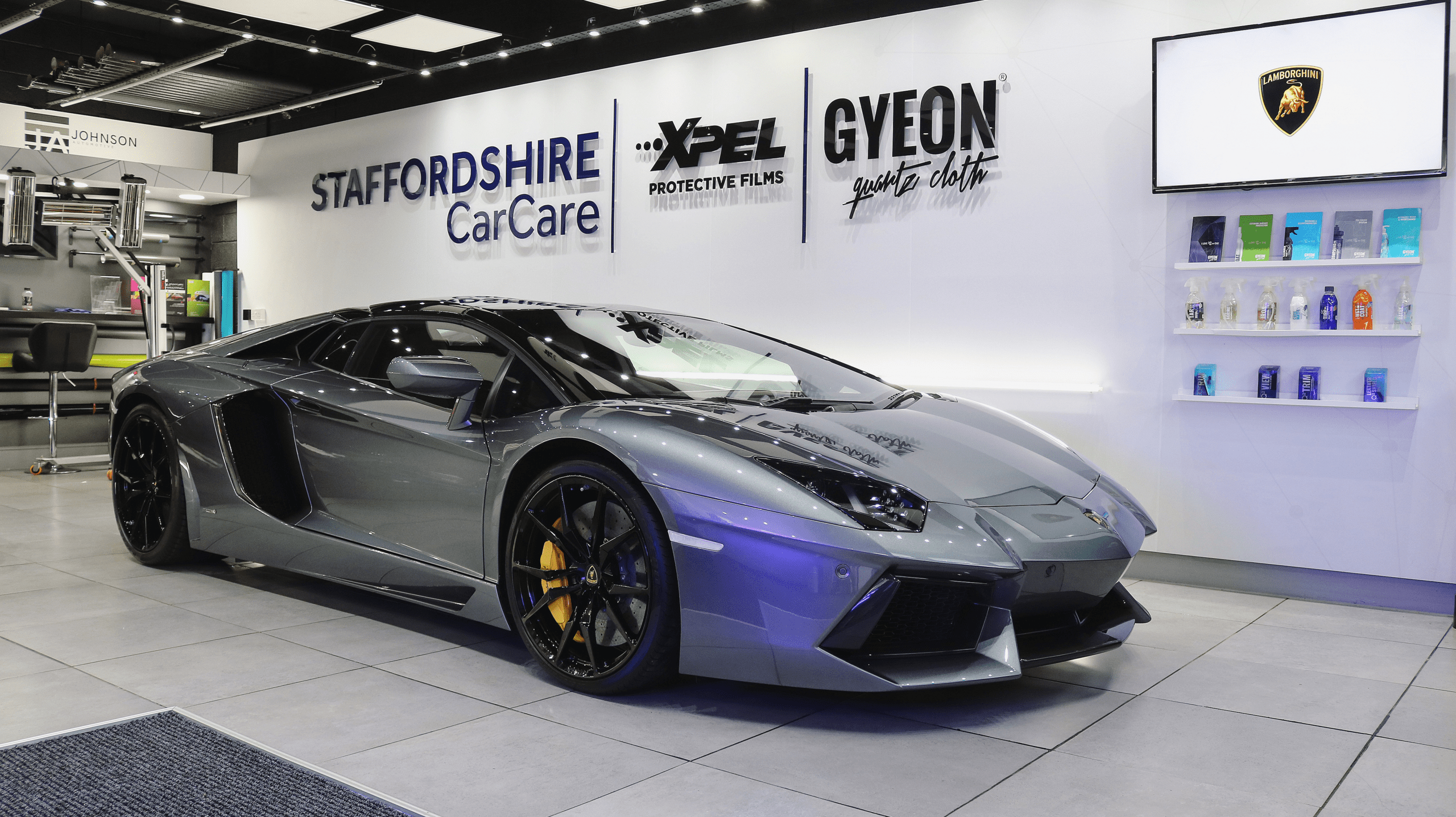 LAMBORGHINI- GYEON - staffordshire car care