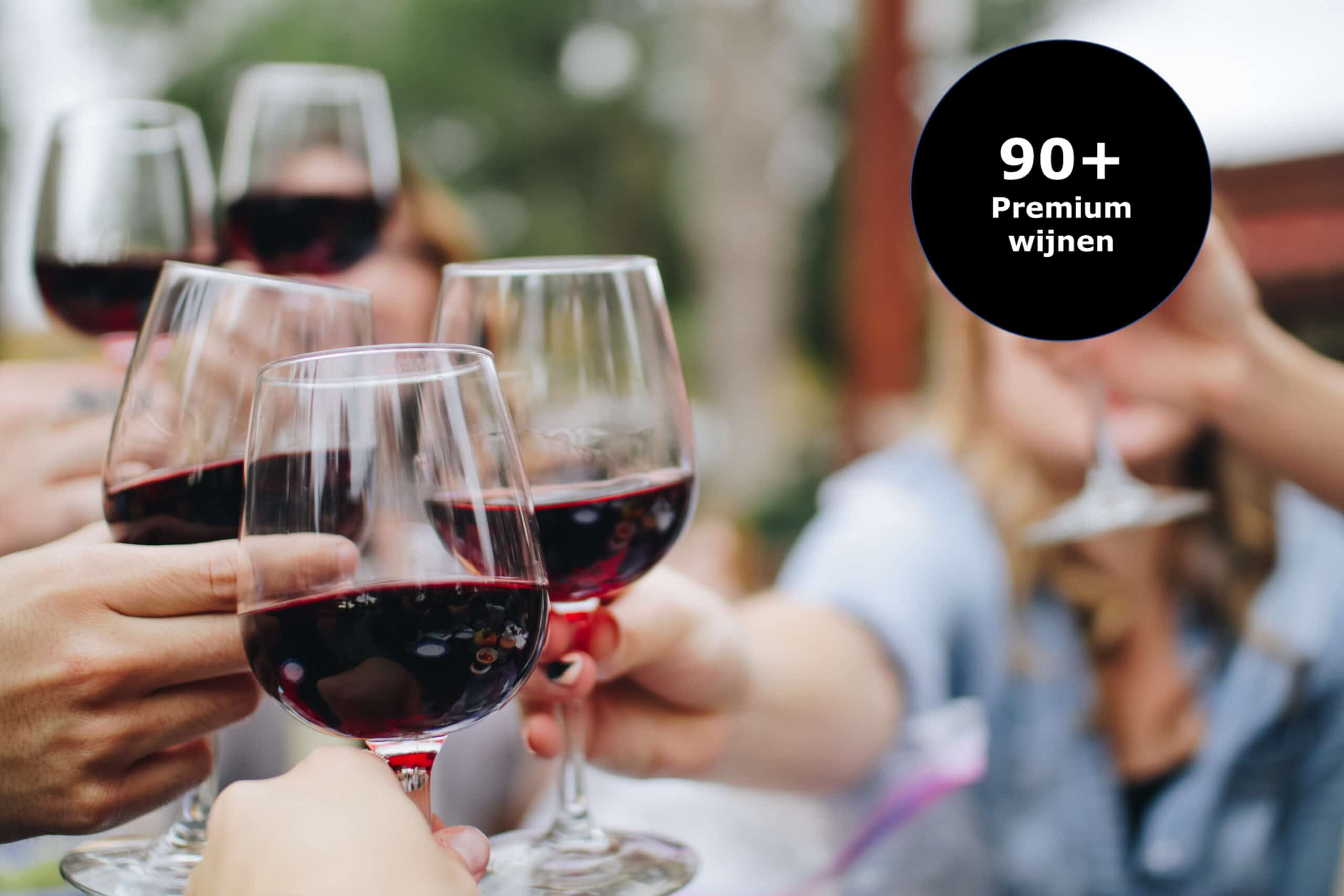 Importeria 90+ wijnen
