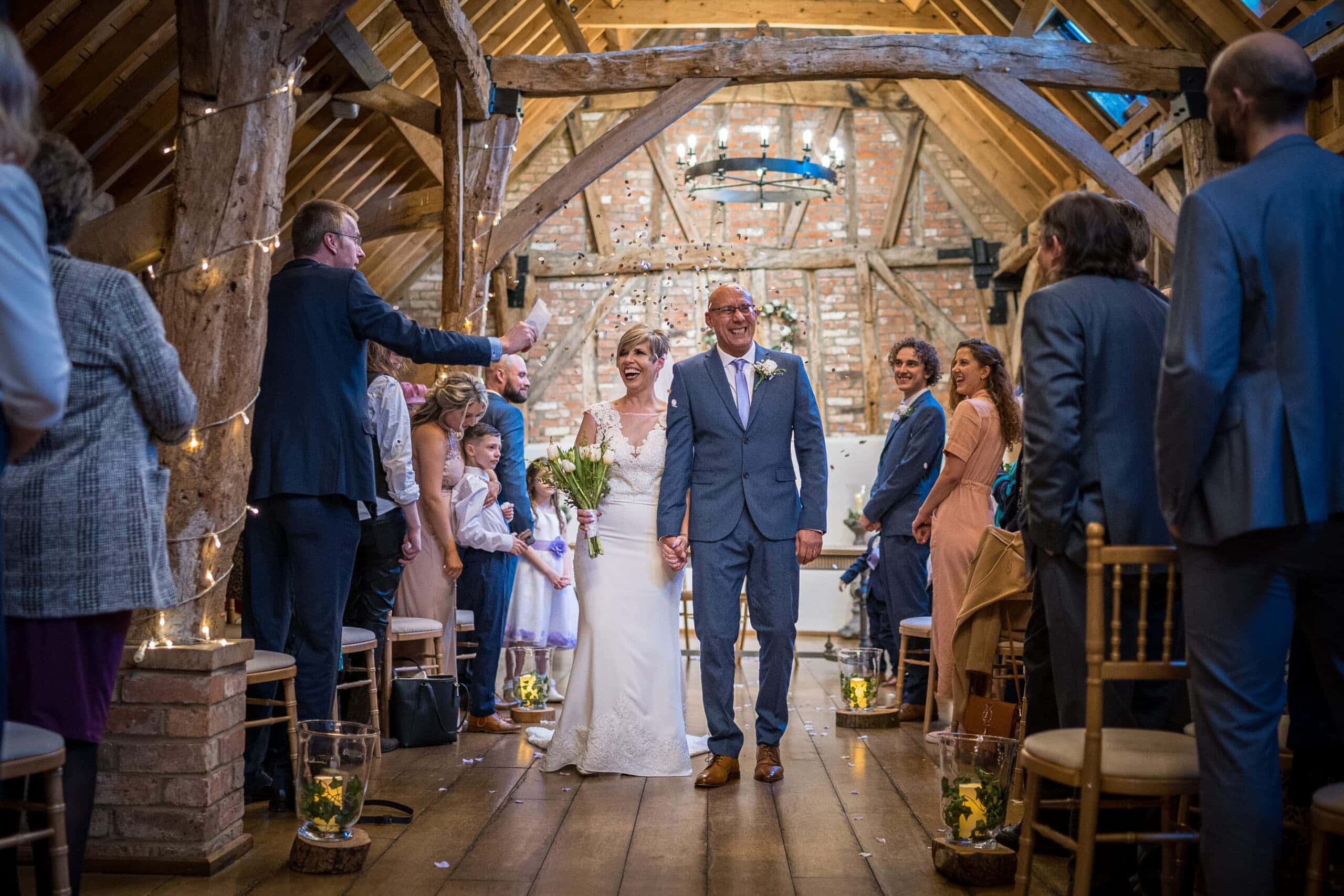 Wedding At Bassmead Manor Barns