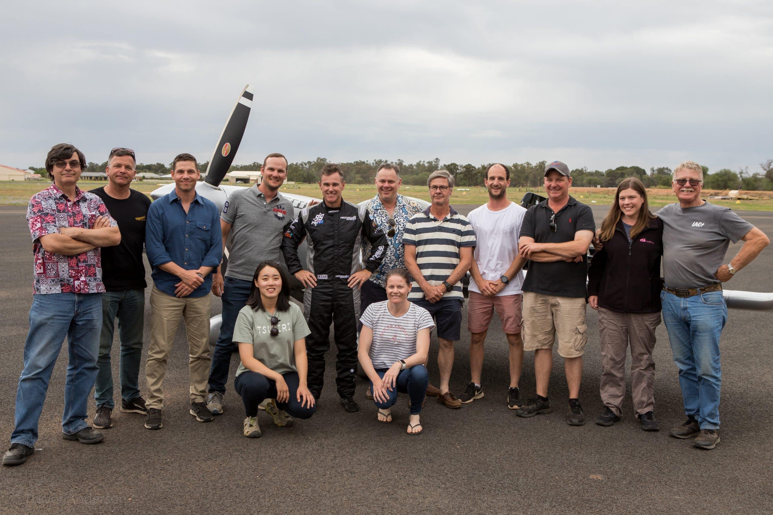 Team AAA NSW 2020 with Matt Hall