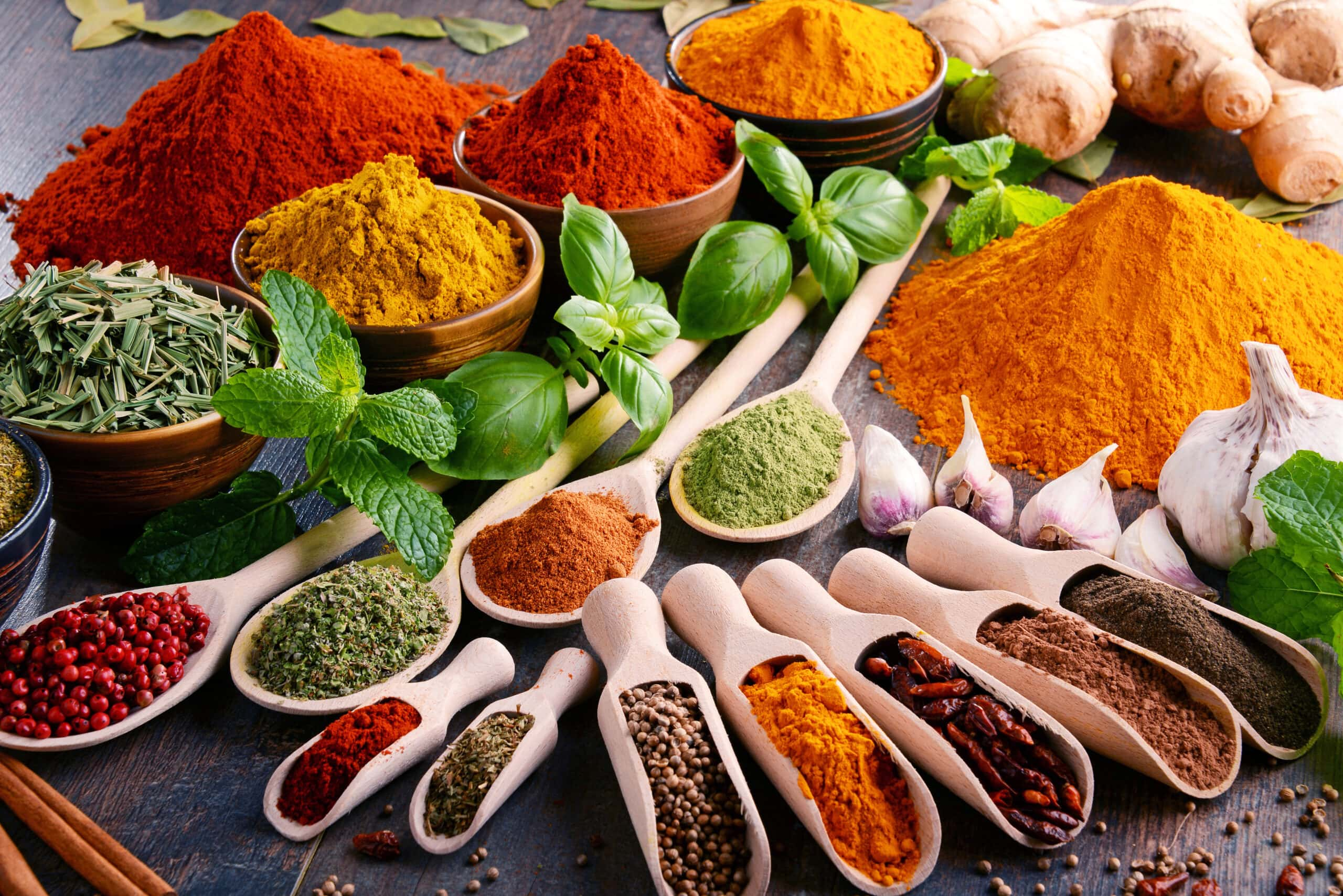 Spices together