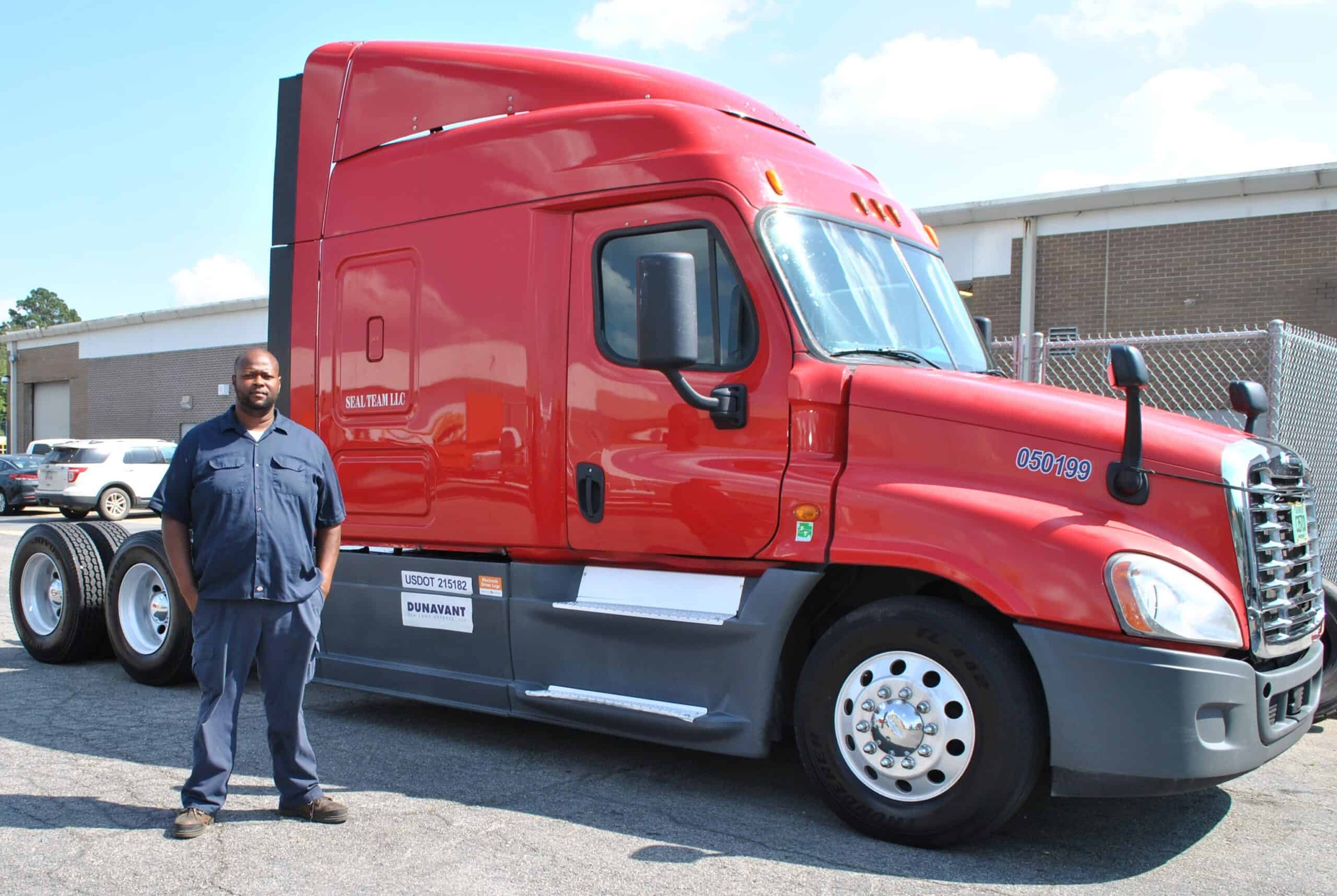 Walter Butts came to OFTC to learn how to drive trucks. Years later, he's a successful business owner back at OFTC learning the skills he needs to maintain and grow his business.