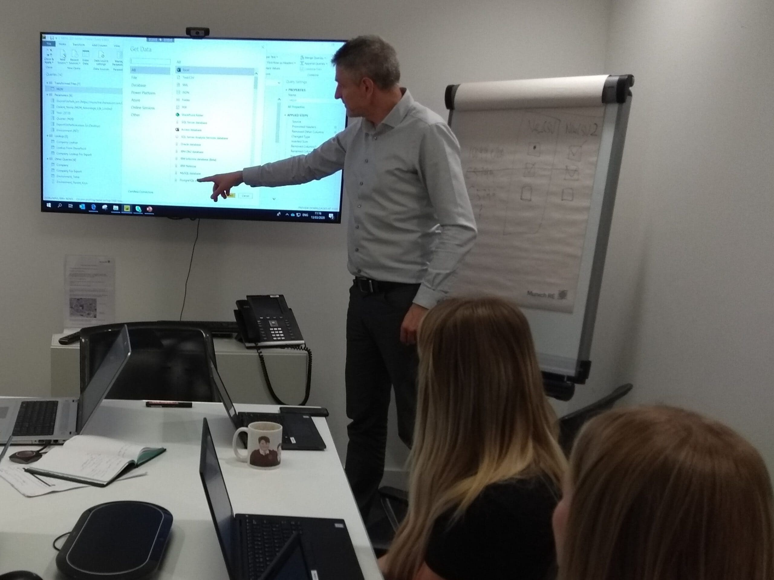 Power BI rollout Munich RE London