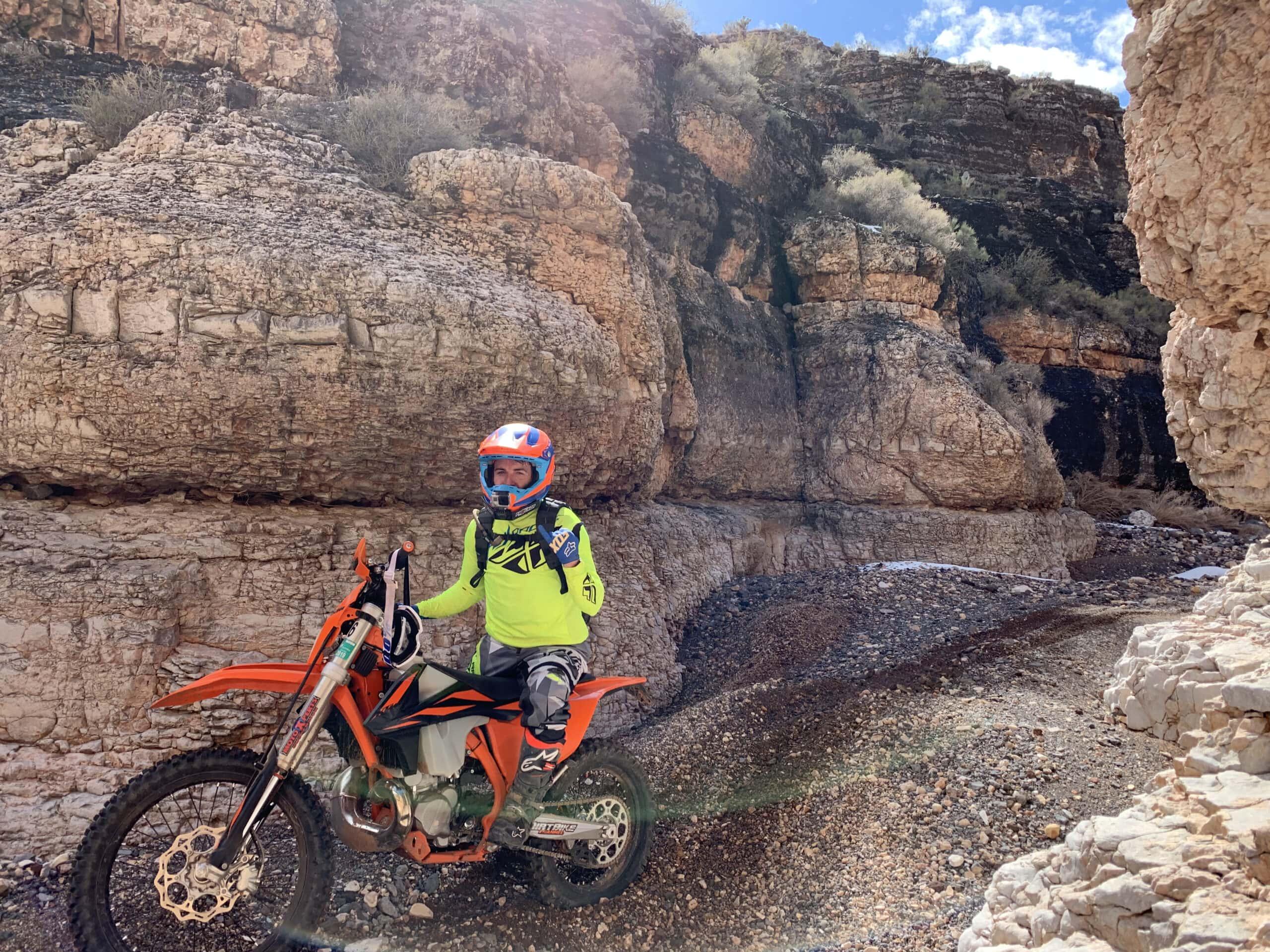 Fox racing dirt bike glove