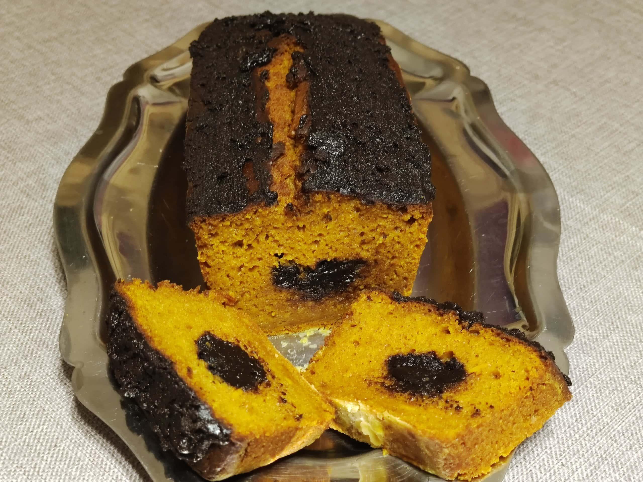 photo de Gâteau potimarron et crème de marrons