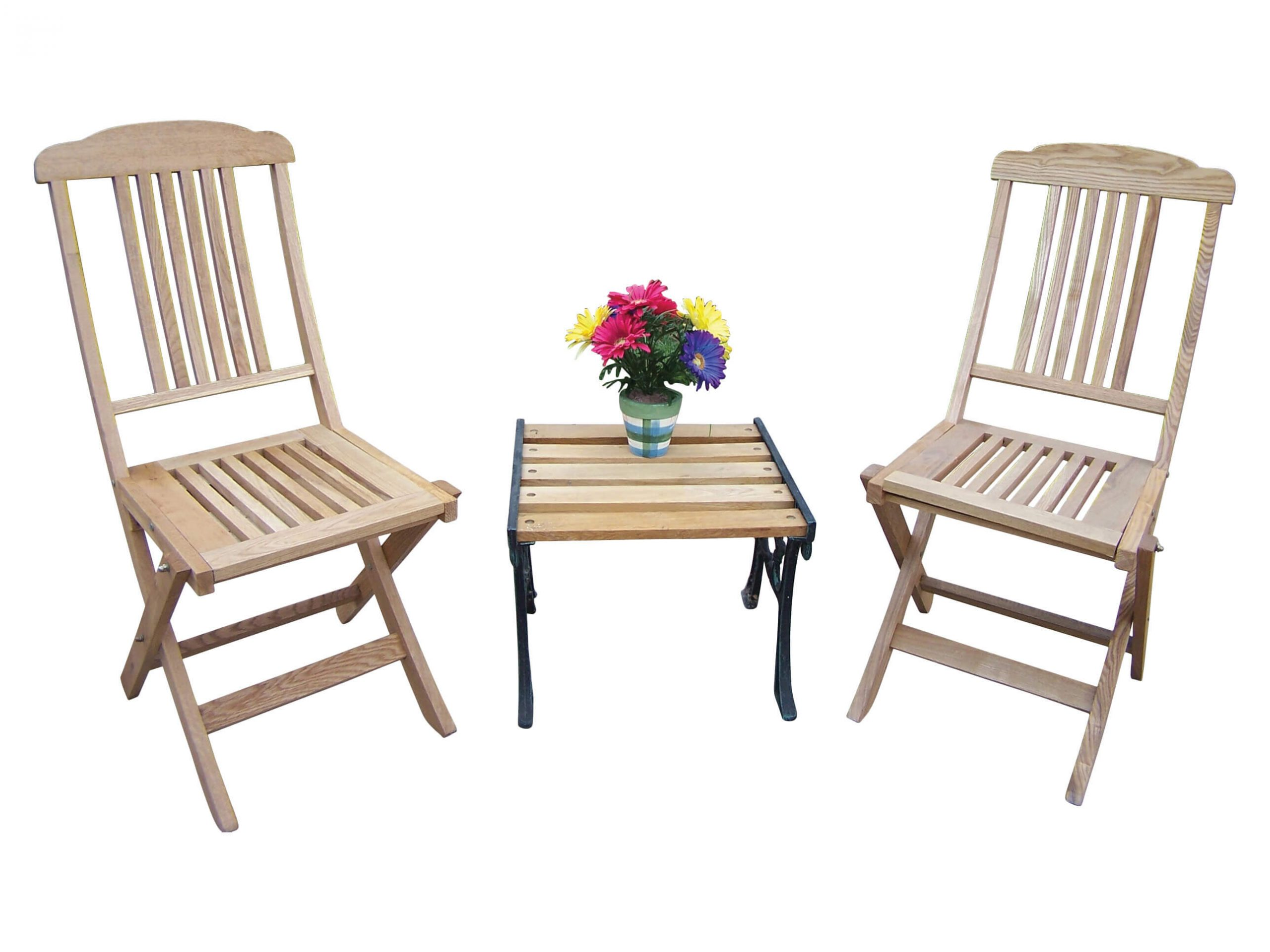 CLASSIC PICNIC OUTDOOR DINING SET FOR SMALL SPACES
