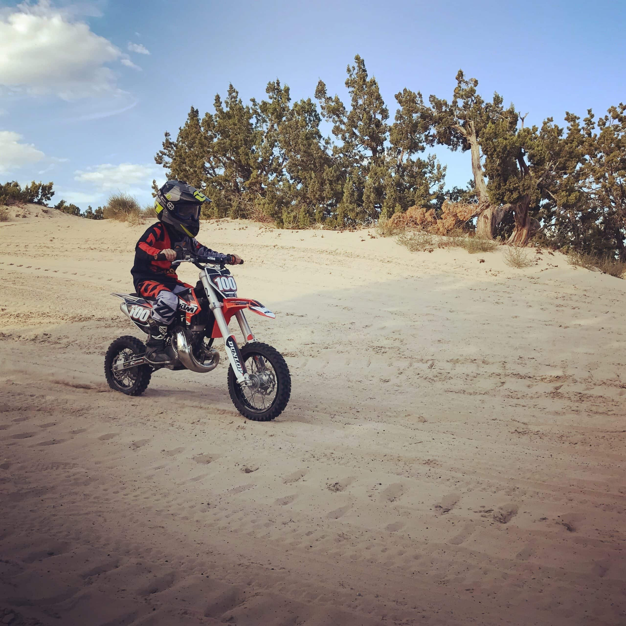 KTM 50 SX dirt bike