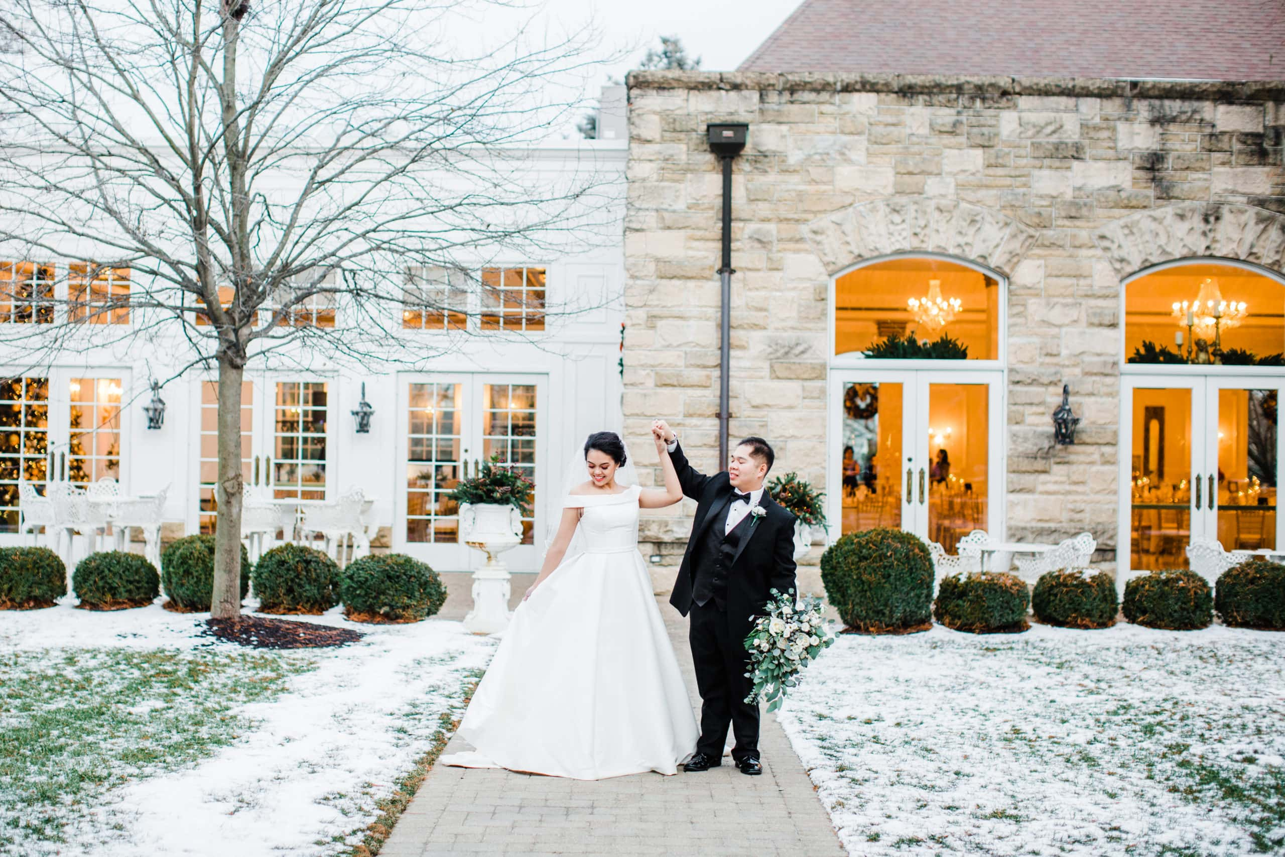 bozena_voytkoChicago weddding photographer Haley Mansion Winter Wedding