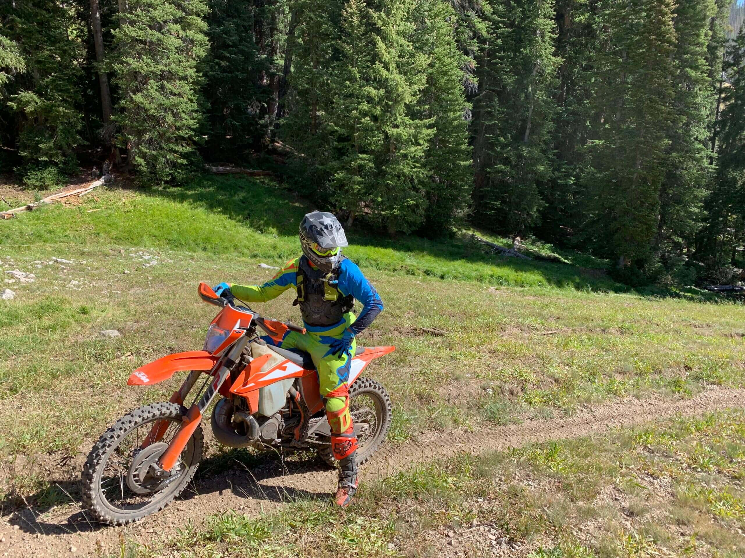 Build your own single track trail