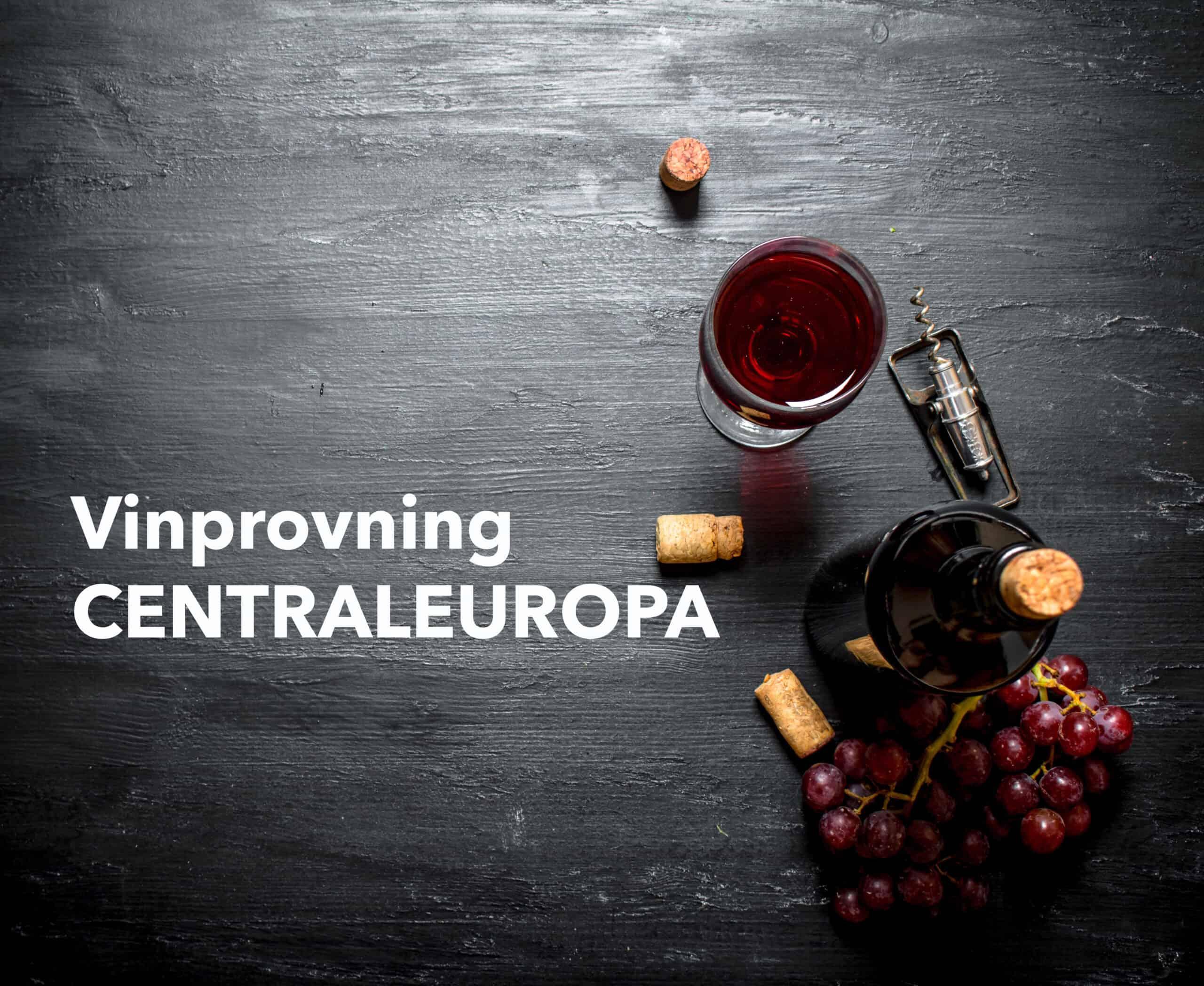 Rödvinsprovning – trendiga Centraleuropa