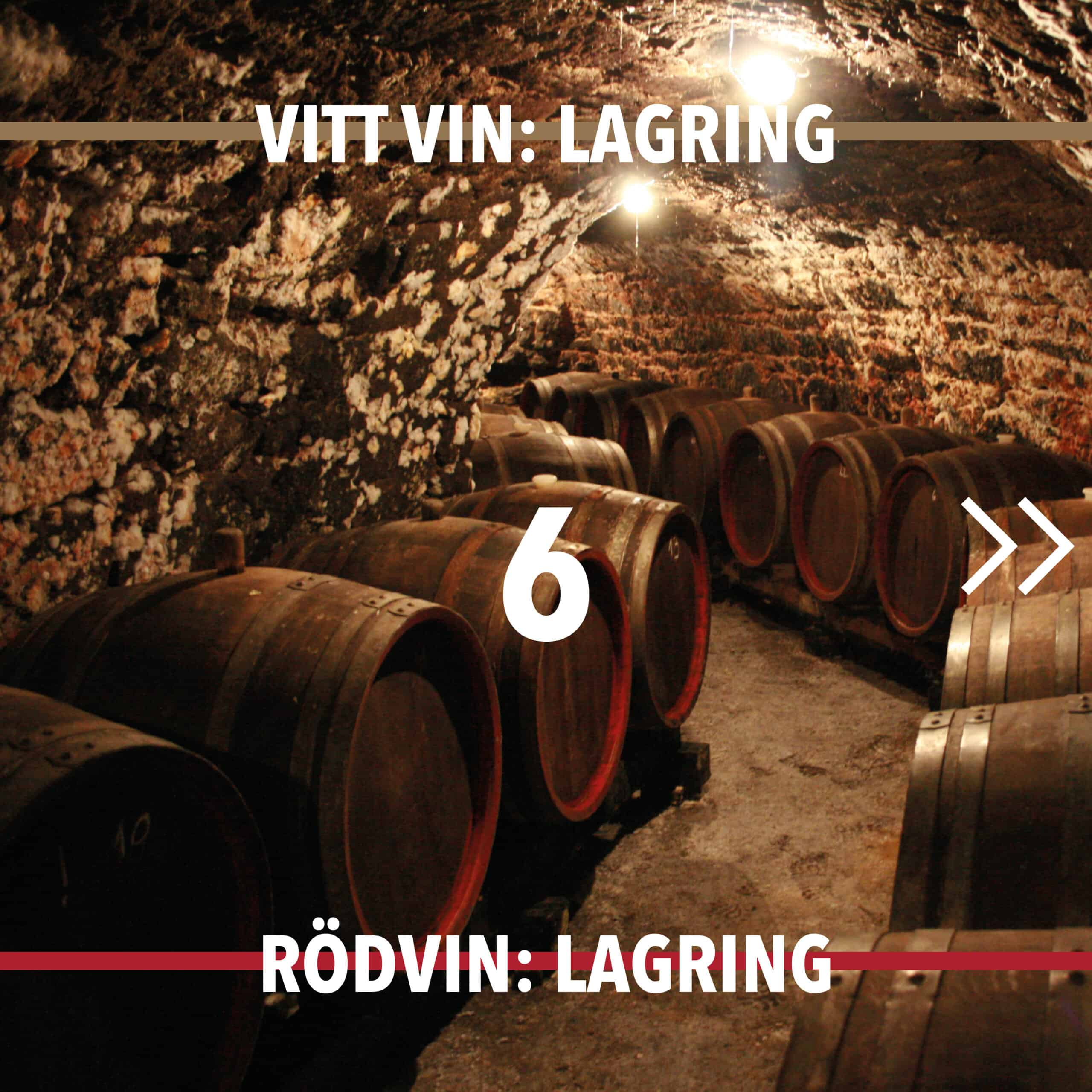 Vintillverkning guide hungry wines: lagring