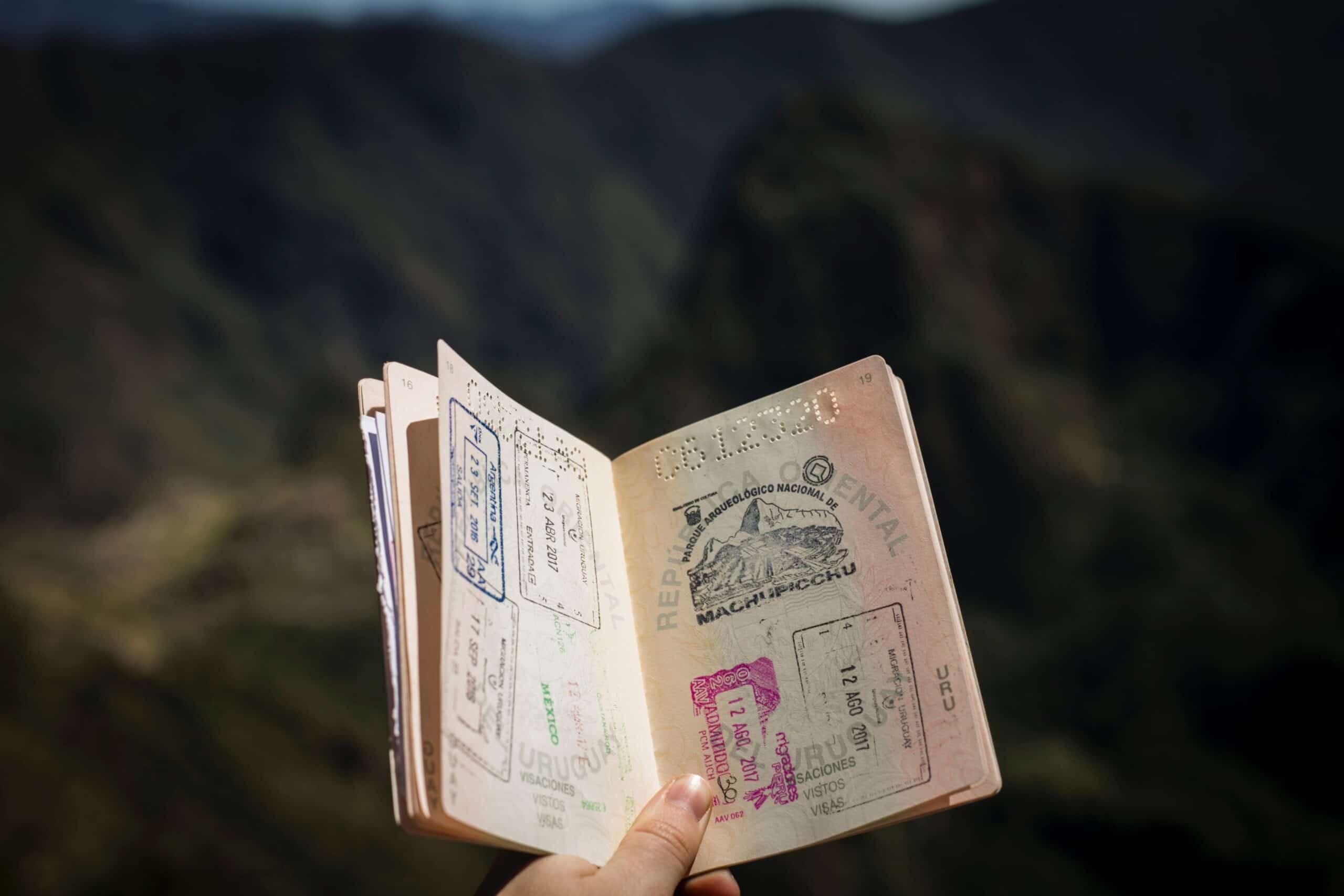 Most stamped passport