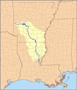 Ouachita River Map