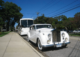 2010 40 Passenger Party Bus & 1955 Rolls Royce 1
