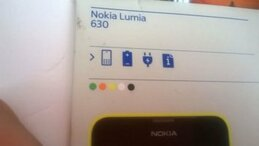 Nokia Lumia 630 Box back