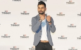 Tissot introduces Virat Kohli as its Indian male brand ambassador
