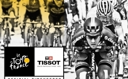 Tissot, Official Timekeeper of the Tour de France once again
