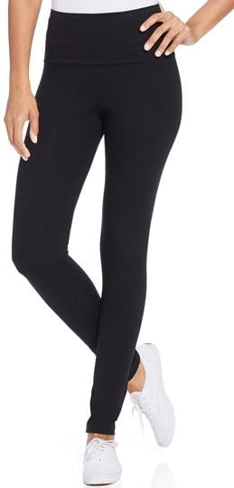 Style & Co tummy control leggings | 40plusstyle.com
