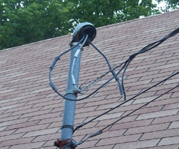 Single Phase Lines to a Residence