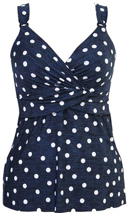 polka dot swimsuits for women over 40 | fashion over 40 | style | fashion | 40plusstyle.com