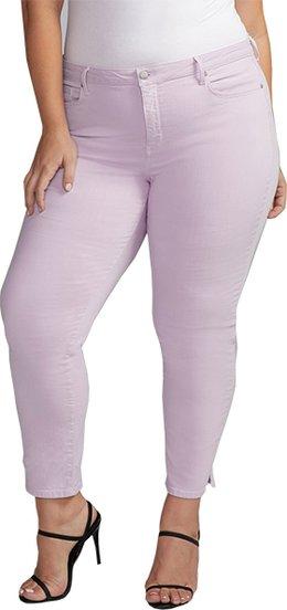 NYDJ slim straight ankle jeans | 40plusstyle.com