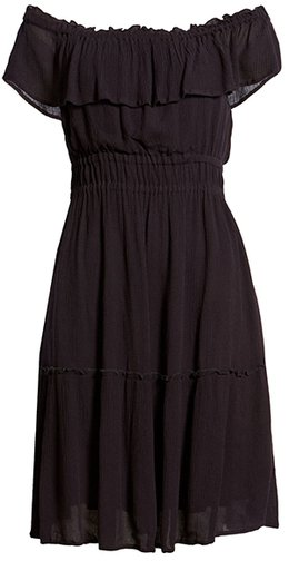 Tommy Bahama off the shoulder dress | 40plusstyle.com