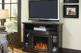 Pleasant Hearth 248-44-34M Elliot Media Fireplace