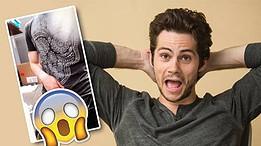 Dylan O'brien, de Teen Wolf, exibe a rola