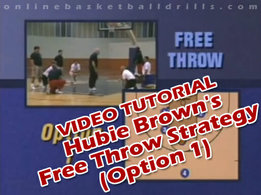 free throw strategies option 1