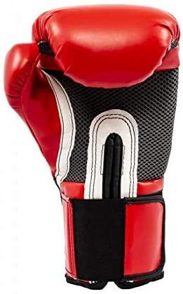 gant de boxe everlast rouge intérieur