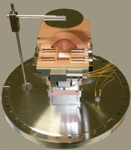 Telemark Model 264 E-Beam Source on 16 inch CFF